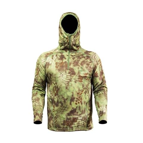 Толстовка с капюшоном KRYPTEK Sherpa Zip Hoodie (Mandrake)