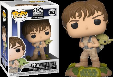 Фигурка Funko Pop! Star Wars: The Empire Strikes Back - Luke Skywalker & Yoda