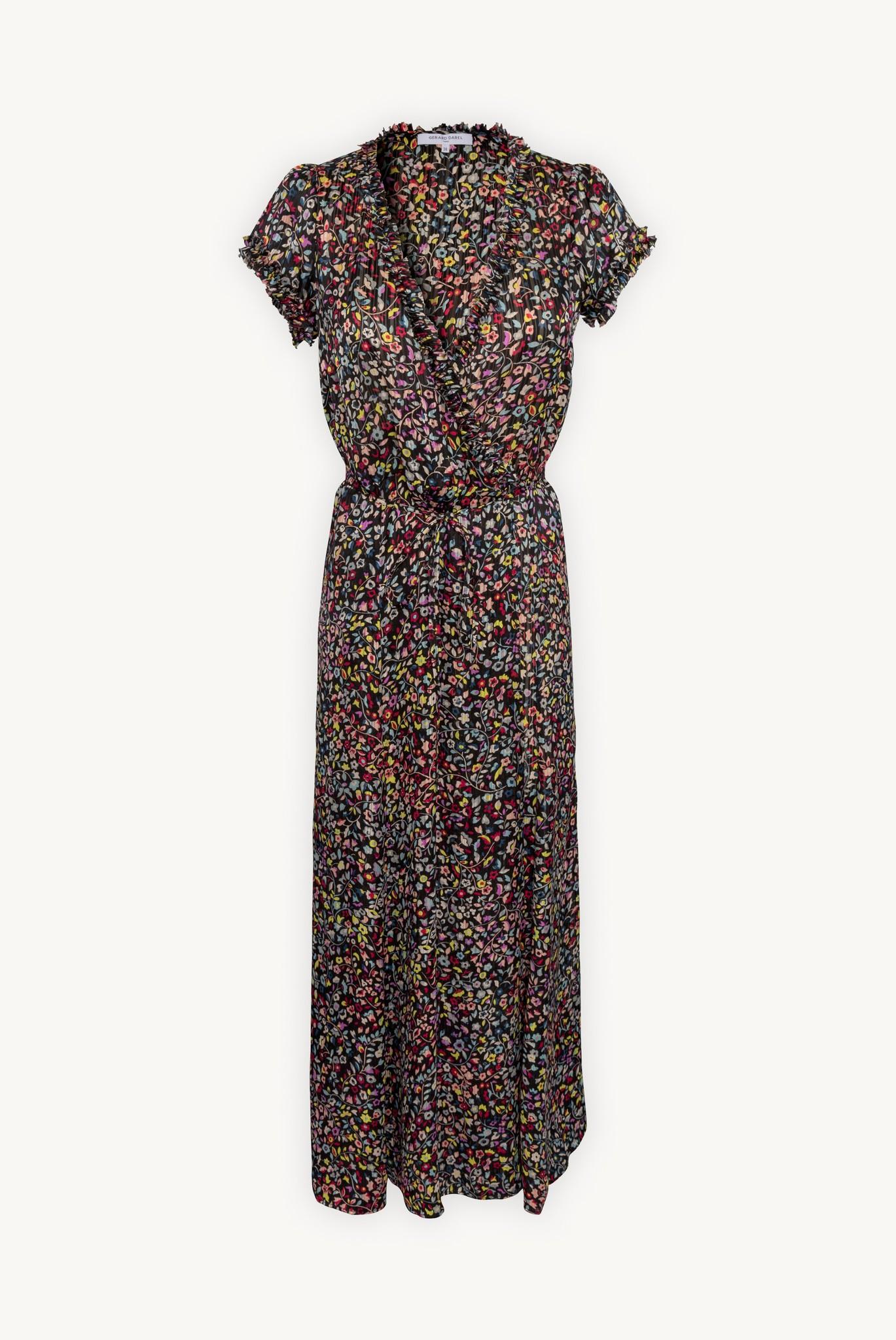 SUSY - Длинное платье с цветочным принтом