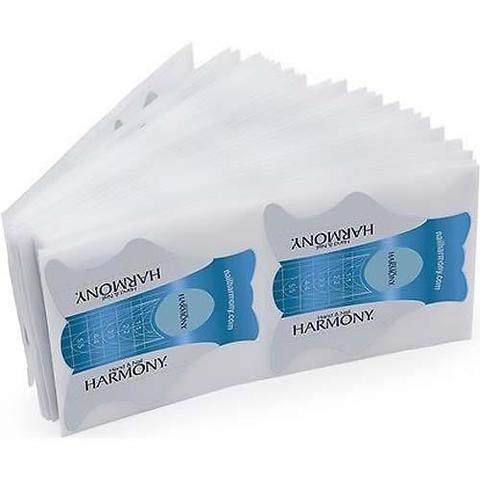 HARMONY Perfetto Nail Forms - одноразовые бумажные формы, 100 шт.