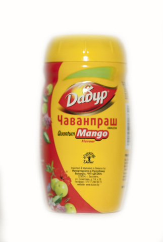 Chywanprash (Чаванпраш со вкусом манго) Awaleha Quantum mango - пищевая добавка 500гр.