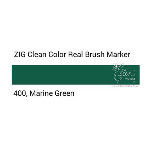 Маркер акварельный ZIG Clean Color Real Brush- штучно - 400