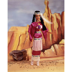 Коллекционная Кукла Барби Индианка (Native American) - Куклы Мира, Mattel