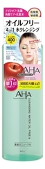 Очищающее средство для снятия макияжа с фруктовыми кислотами Aha Cleansing Water Oil Free 400мл