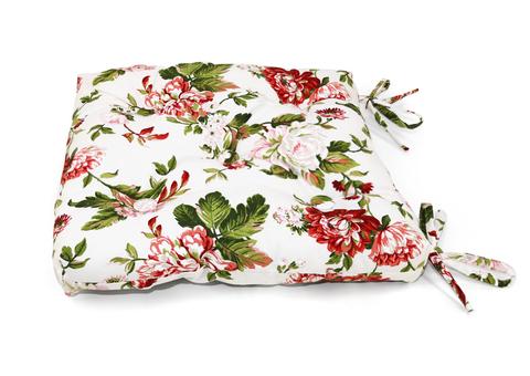 Подушка на стул Лилиана красный