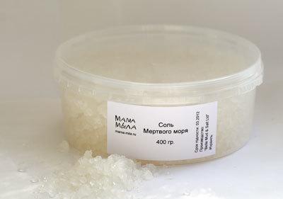 Соль Мертвого моря 250г