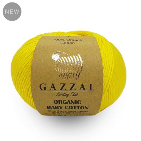 Купить Пряжа Gazzal Organic Baby cotton | Интернет-магазин пряжи «Пряха»