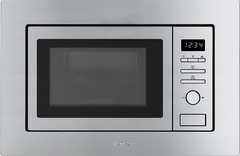 Микроволновая печь Smeg FMI017X фото