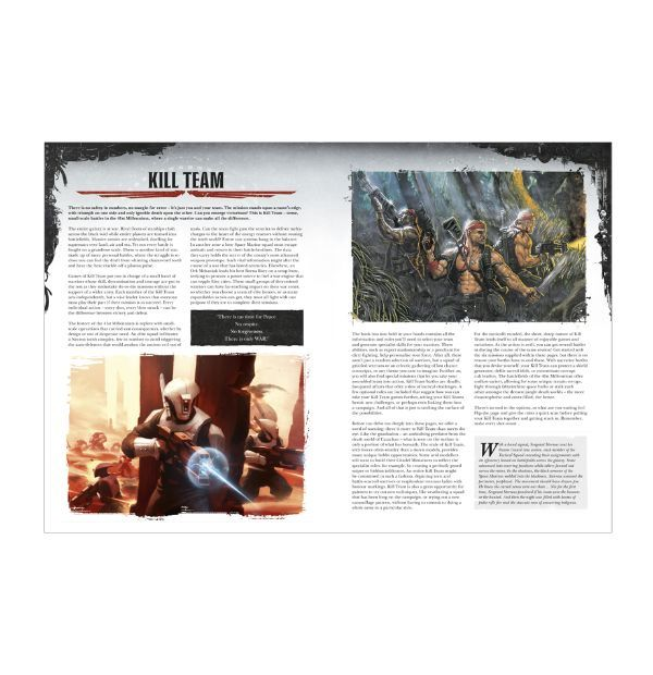 Warhammer 40,000: Kill Team. Правила