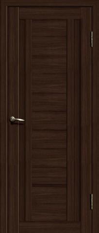 Дверь La Stella 204, цвет дуб мокко, глухая