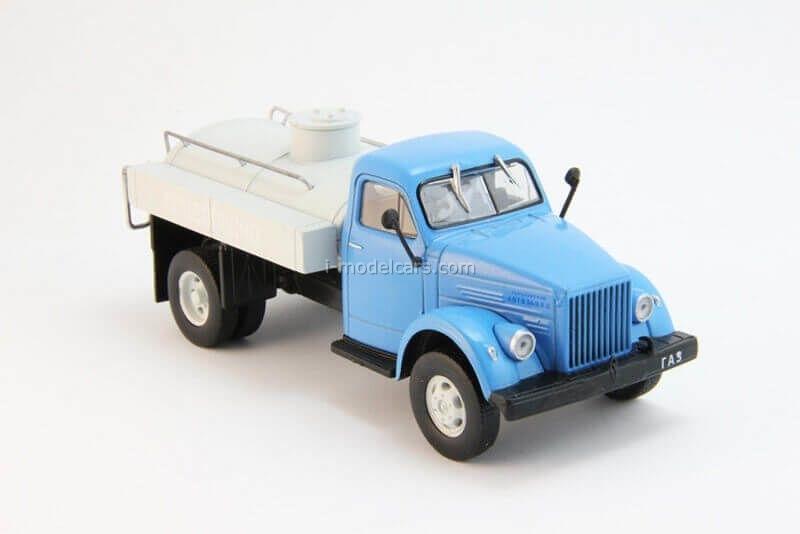 GAZ-51A fuel truck blue-gray 1:43 DeAgostini Auto Legends USSR Trucks #4