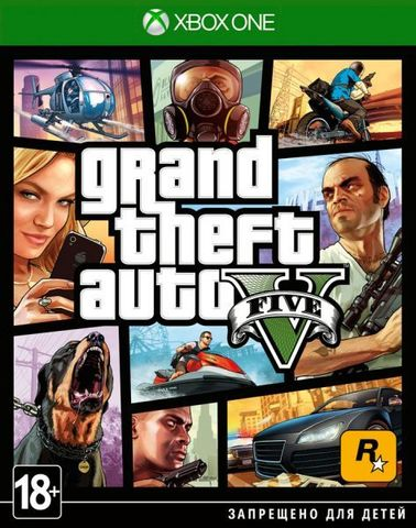 Microsoft Xbox One Grand Theft Auto V (GTA 5) (русские субтитры)