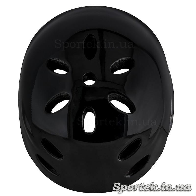 Вид шлема сверху-сзади