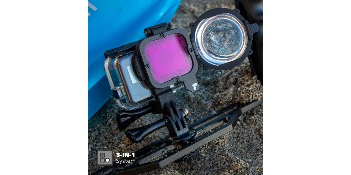 Набор фильтров PolarPro Switchblade для HERO7 Black на камере