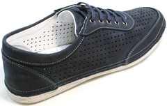 Мужские кроссовки на каждый день Vitto Men Shoes 3560 Navy Blue.