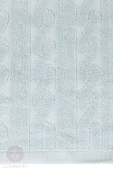 Набор полотенец 3 шт Luxberry Imperio голубая глина