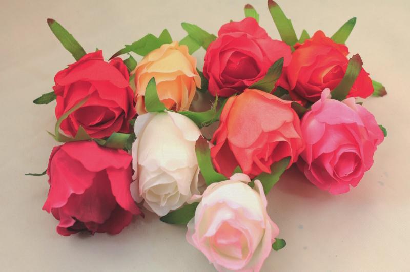 Бутон розы 8 см.