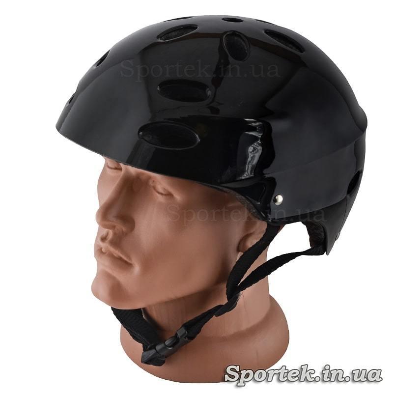Велосипедный шлем для подростков и взрослых, черный, размер 55-56 (S)