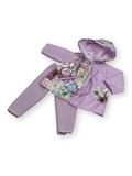 Плащ комбинированный - Сиреневый. Одежда для кукол, пупсов и мягких игрушек.