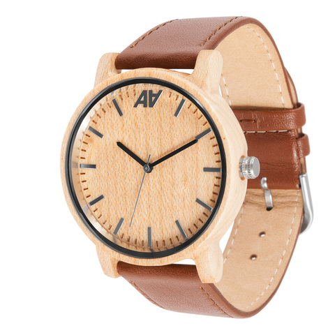 Часы из дерева AA Wooden Watches Винтаж Клен
