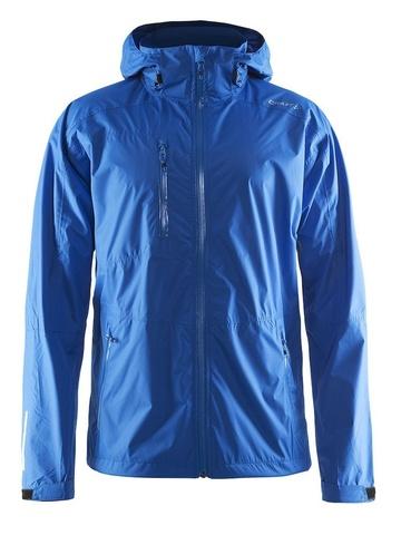 Ветрозащитная куртка-дождевик мужская Craft Aqua Rain синяя