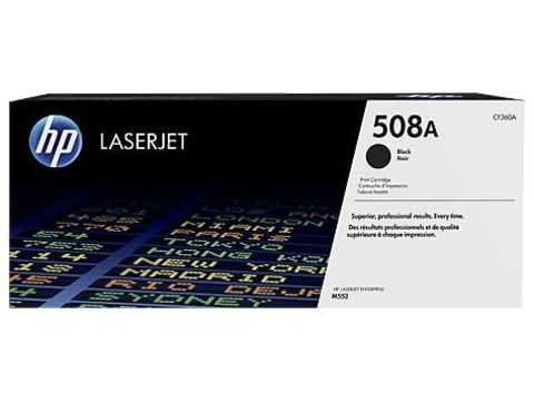 Картридж черный 508A HP Color LaserJet Enterprise M553. Ресурс 6К (CF360A)