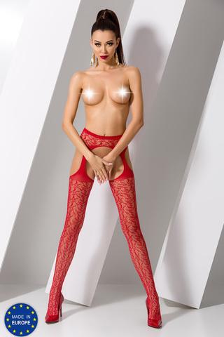 Чулки S 014 Red