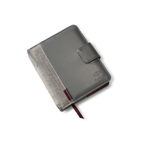 Подарочный набор: Записная книжка и Перьевая ручка Parker Sonnet New Metal and Pearl Lacquer CT123