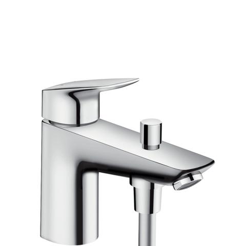 Смеситель д/ванны на борт ванны на 1 отверстие Logis Hansgrohe 71312000
