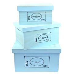 Набор из 3-х коробок «BOX»