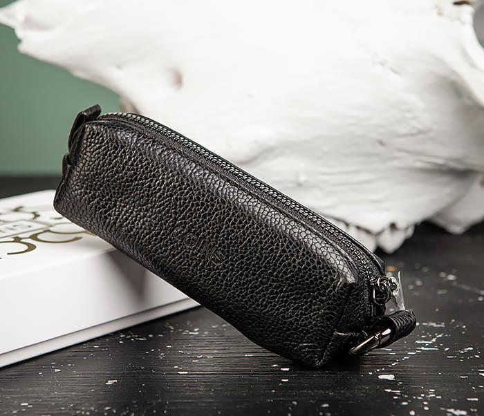 BC218-1 Удобная ключница «Santini» из натуральной кожи с кольцом фото 02