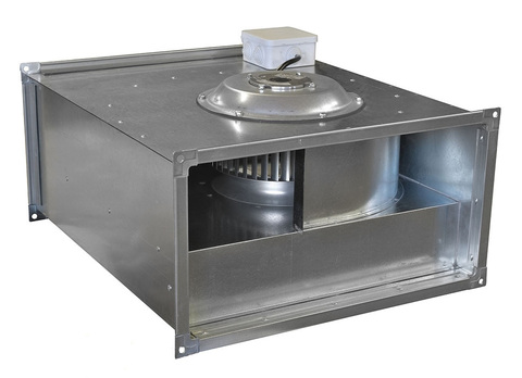 Вентилятор ВКП 70-40-4D 380В канальный, прямоугольный