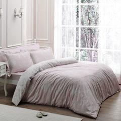 Постельное белье  ARREDO розовый deluxe TIVOLYO HOME Турция