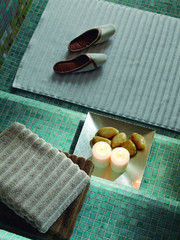 Элитный коврик для ванной Sultan черный от Hamam