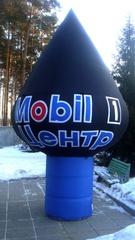 Рекламный шар на опоре 6 метров