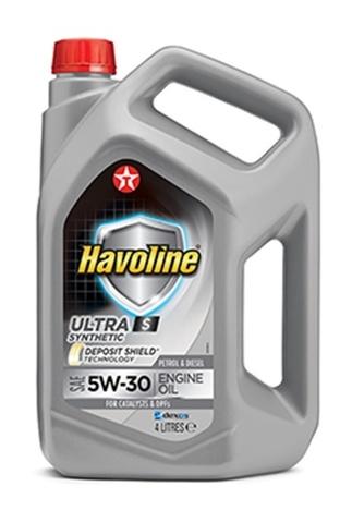 HAVOLINE ULTRA S 5W-30 моторное масло TEXACO 4 литра