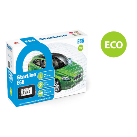 StarLine E66 ECO BT