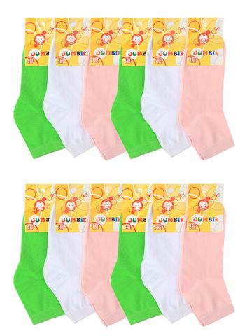 BSA1  носки детские (12 шт.). цветные