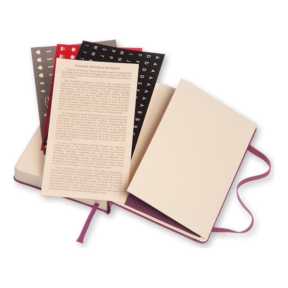 Ежедневник Moleskine Classic Daily Pocket, цвет фиолетовый