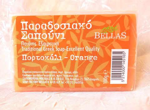 Апельсиновое мыло Bellas