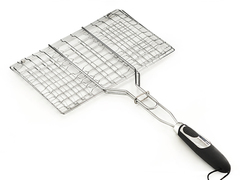 1041 FISSMAN Решетка для барбекю 35,5x22,5x2,5 см