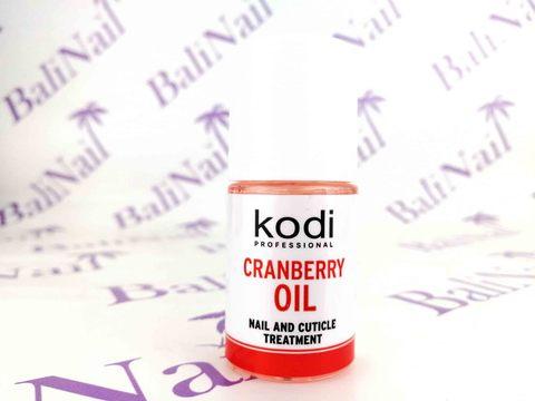KODI, Масло для кутикулы Cranberry, 15 мл