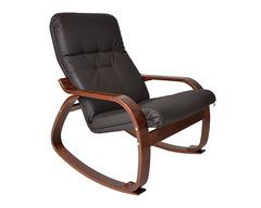 Кресло-качалка Сайма, экокожа (018.0022)