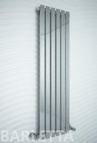 Barletta - водяной дизайн полотенцесушитель цвета хром .