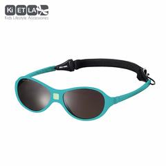 Очки солнцезащитные детские Ki ET LA Jokaki 1-2,5 лет. Peacok Blue (бирюзовый)