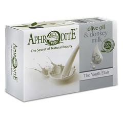 """Оливковое мыло """"Эликсир Молодости"""", Aphrodite"""