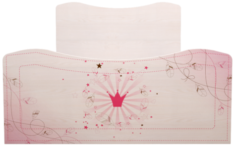 Кровать одинарная 05 Принцесса-2 (компл. 2)
