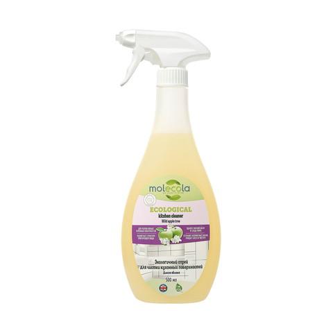 Экологичный спрей для чистки кухонных поверхностей Дикая яблоня 500 мл (Molecola)