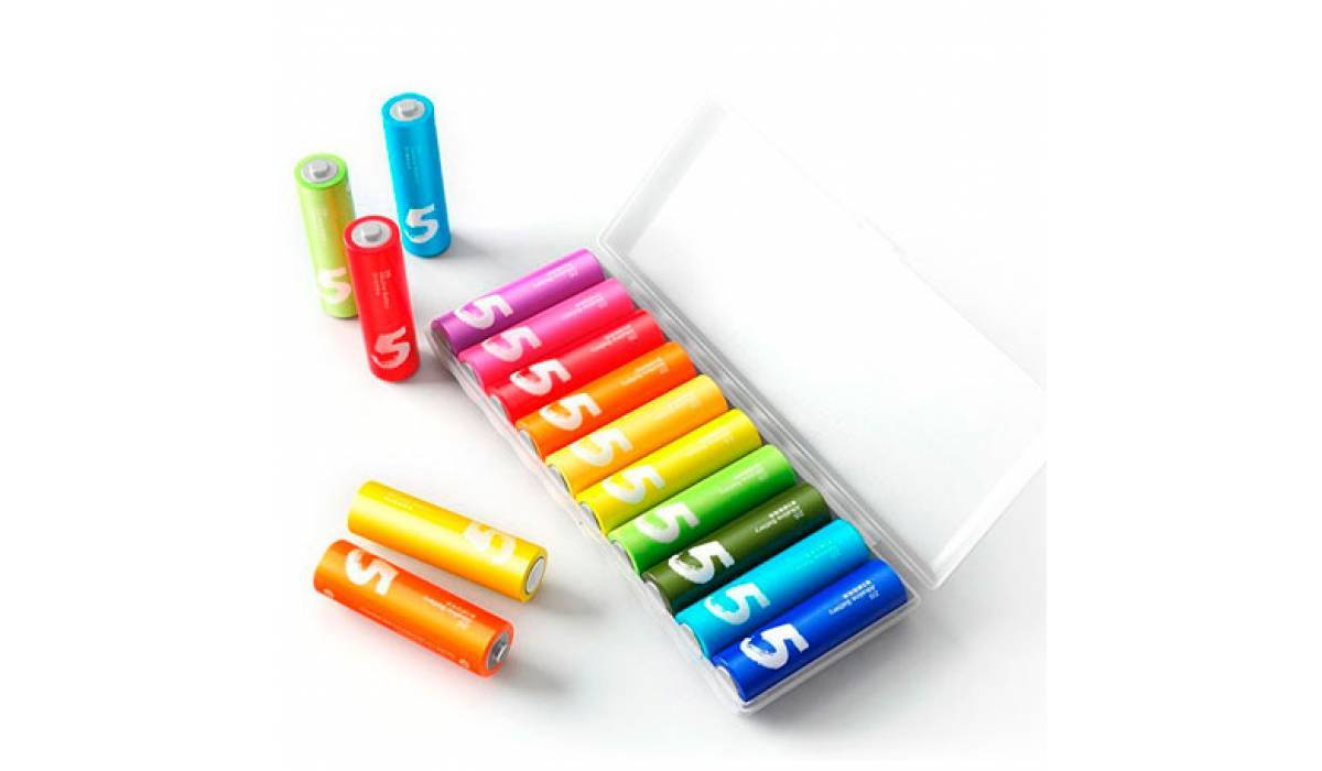 Набор батареек Xiaomi Zi5 AA Rainbow Battery