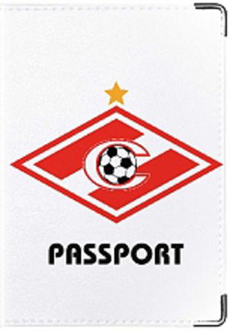 """Обложка для паспорта """"Спартак"""" (4)"""